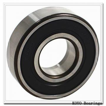 107,95 mm x 127 mm x 12.7 mm  KOYO KUX042 2RD angular contact ball bearings