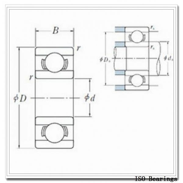 10 mm x 22 mm x 14 mm  ISO NA4900-2RS needle roller bearings #1 image